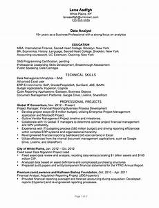 resume example for a data analyst susan ireland resumes With data analyst resume sample