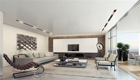 Contemporary Living Room Pictures by Apartment Interior Design Inspiration