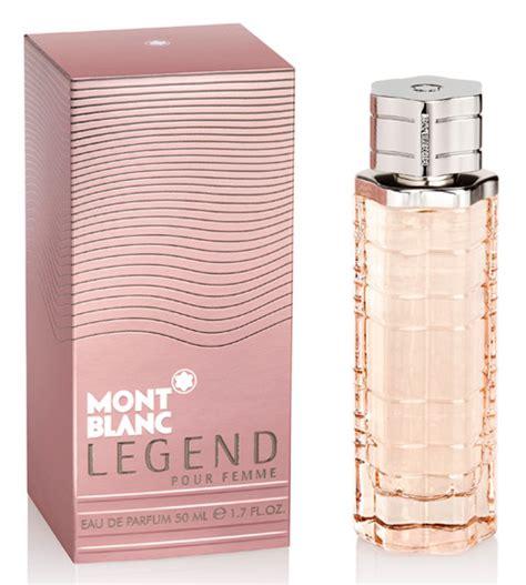 mont blanc legend pour femme new fragrances