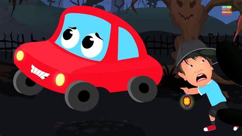 red car   scary woods car rhymes  songs