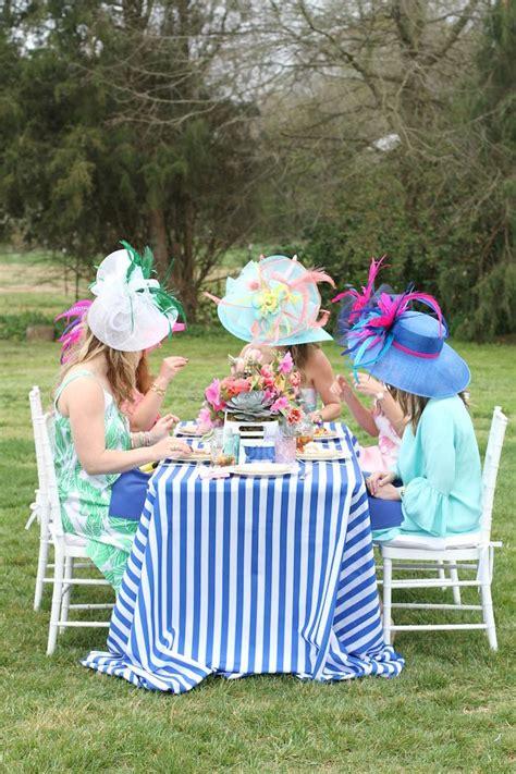 karas party ideas kentucky derby garden party karas