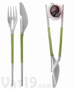 Fork and Knife Chopsticks: Portable utensils that