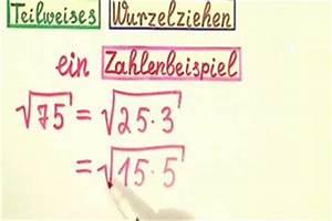 Komplexe Nullstellen Berechnen : video teilweises wurzelziehen so wird 39 s gemacht ~ Themetempest.com Abrechnung