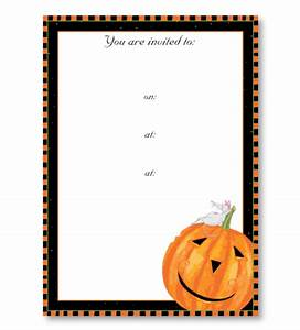 party invitations With blank halloween wedding invitations