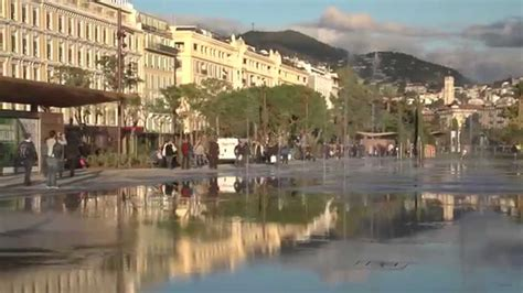 Nice, France downtown - YouTube