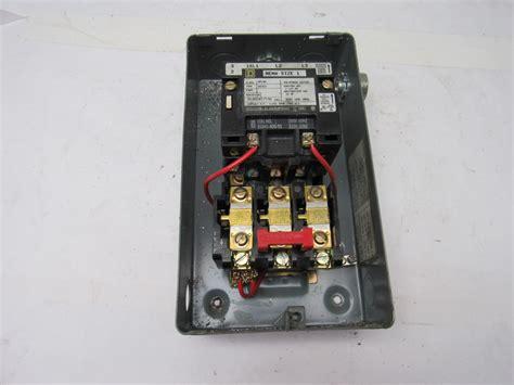 square d 8536scg3 motor starter 240v nema size 1 w 30072 311 41 enclosure ebay