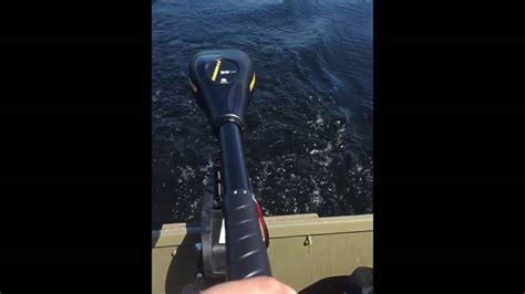 10ft Jon Boat Motor by 10ft Jon Boat With 30lb Trolling Motor Test Run