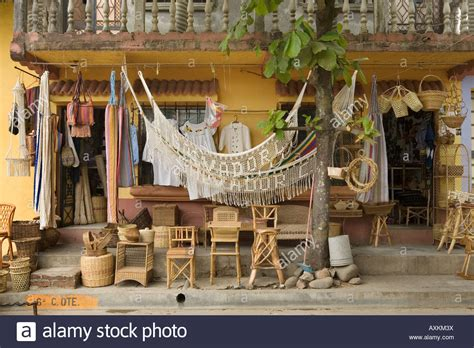 What Stores Sell Hammocks store selling furniture hammocks and crafts in nahuizalco
