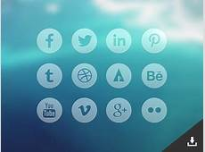 15 Best Flat Circular Social Icon Sets For Free Download