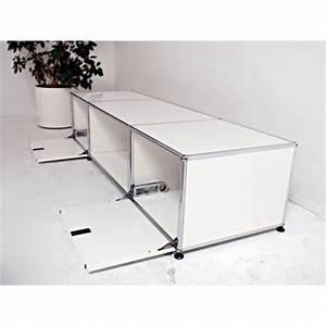 Tv Sideboard Weiß : usm haller b rom bel lowboard tv sideboard in weiss bei resale ~ Markanthonyermac.com Haus und Dekorationen
