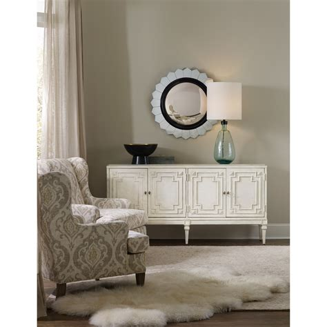 Living Room Credenza by Furniture Living Room Accents 5485 85001 Wh 4 Door