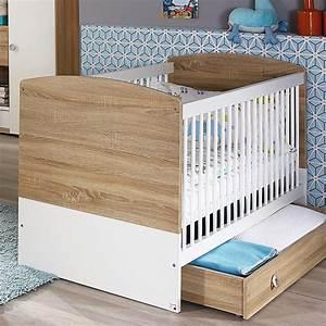 Babybett Sonoma Eiche Umbaubar : babybett indira babyzimmer eiche sonoma wei 140x70 cm ~ Indierocktalk.com Haus und Dekorationen