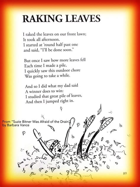 fall childrens poem  raking leaves  autumn great