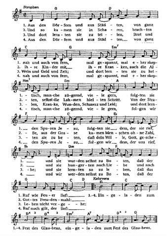 moderne kirchenlieder anlass taufe lied kirche