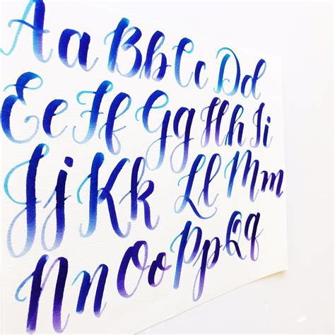 calligraphy  capital letters video freebies kelly