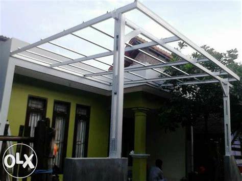 jual kanopi baja ringan atap full transparan  lapak