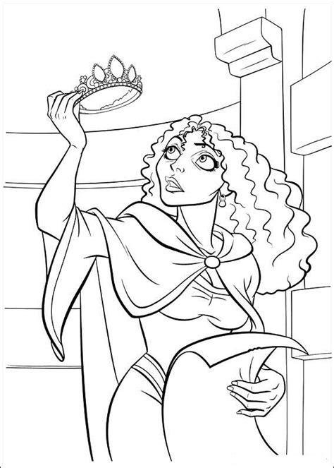 Kleurplaat Rapunzel by Rapunzel Kleurplaten Animaatjes Nl