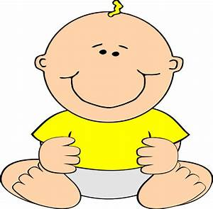Smiling Baby Clip Art at Clker.com - vector clip art ...