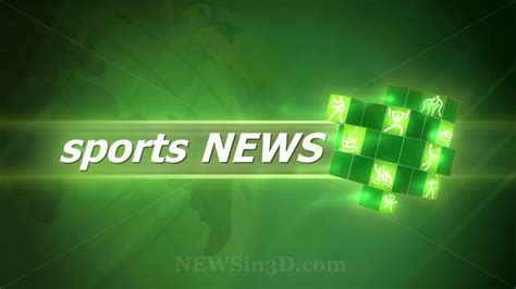 Www News by Sports News Animated Opening