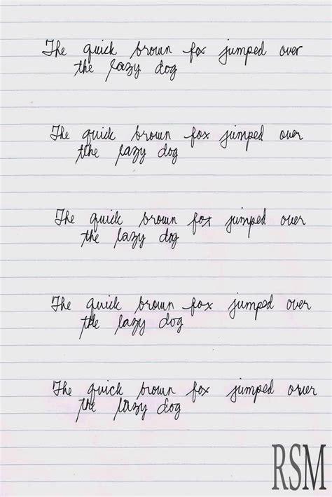 English Handwriting Practice  Hand Writing