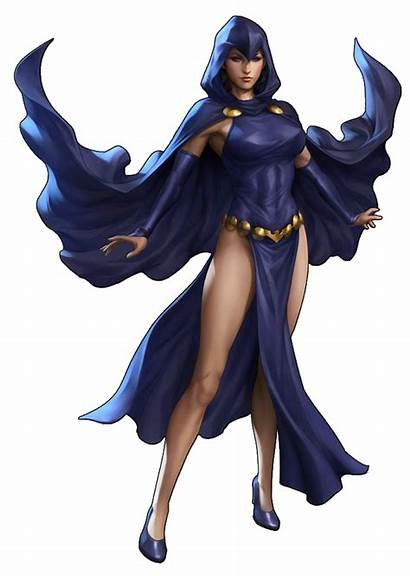 Raven Dc Comics Comic Titans Teen Superhero