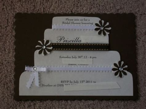 diy bridal shower invitations 2 ways weddingbee photo