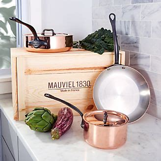 cookware sets stainless steel aluminum crate  barrel