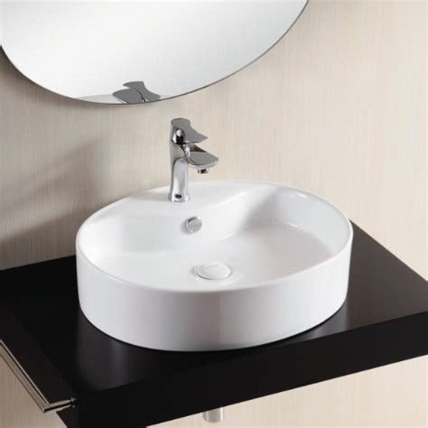 white oval vessel sink oval white ceramic vessel bathroom sink one hole