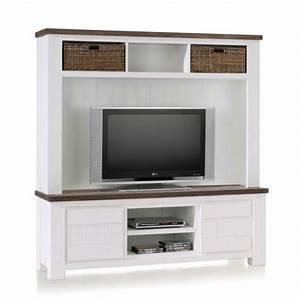Meuble Tele Haut : meuble tv haut de niche ~ Teatrodelosmanantiales.com Idées de Décoration