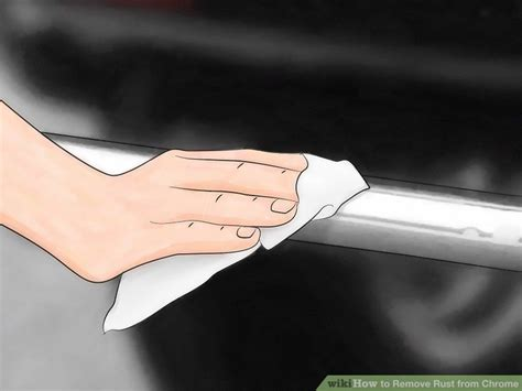chrome rust remove wikihow roest nettoyage jak step aluminum verwijderen