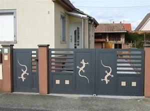 Portail Aluminium Pas Cher : portail pas cher belgique ~ Melissatoandfro.com Idées de Décoration