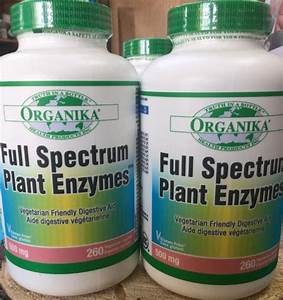 Organika Full Spectrum Plant Enzymes  Dosage And User