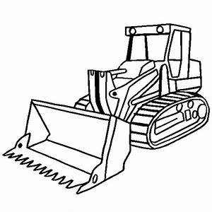 Construction truck coloring pages bulldozer - ColoringStar