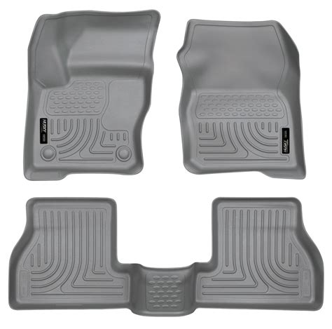 husky weatherbeater all weather floor mats for ford focus