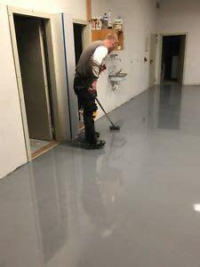 Ausgleichsmasse Boden Garage by 2k Epoxidharz Bodenbeschichtung 10kg Silbergrau Bodenfarbe