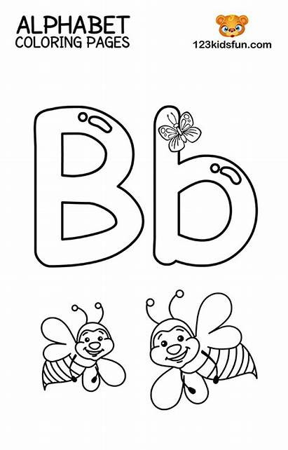 Coloring Alphabet Printable Preschool Toddlers Letter Abc