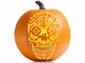 Pumpkin, Carving, Stencils