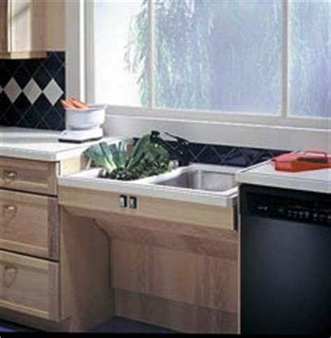 handicap kitchen sink moving on with new products renovations seniors can 1544