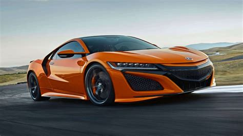 2019 Acura Rance : 2019 Acura Nsx Is Stiffer, Orange, ,500 More Expensive