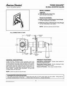 Diverter Valve Trim T555 430 Manuals