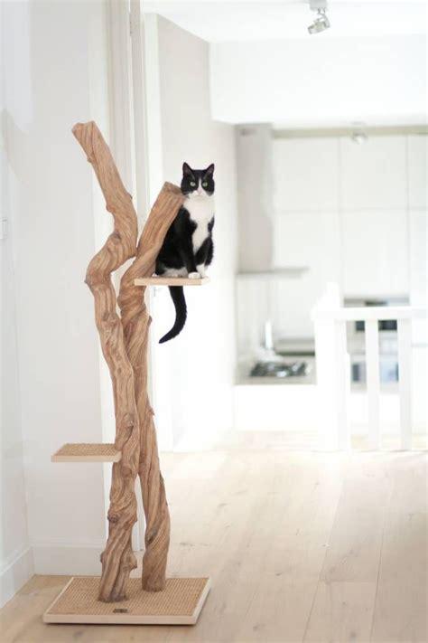 arbre a chat en bois meubles en bois inspirations