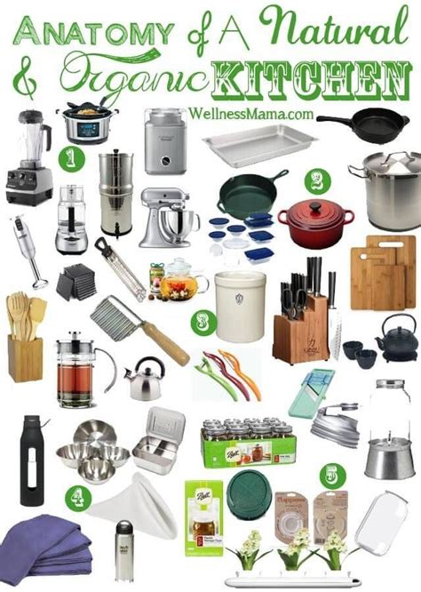natural kitchen essentials list   tools