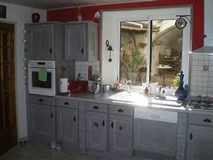 peindre une cuisine rustique affordable peindre une With refaire sa cuisine rustique en moderne