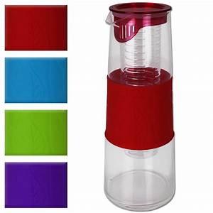 Glaskaraffe 2 Liter : glaskaraffe wasserkaraffe karaffe wasserkrug krug einsatz trinkflasche glas 1 l ebay ~ Whattoseeinmadrid.com Haus und Dekorationen