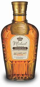 Will you be my groomsman personalized crown royal by for Groomsman liquor bottle labels
