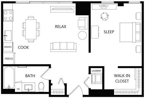 creative      apartment floor plans