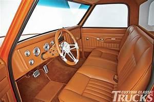This Orange Pearl Chevrolet C10 Truck Is A True Classic