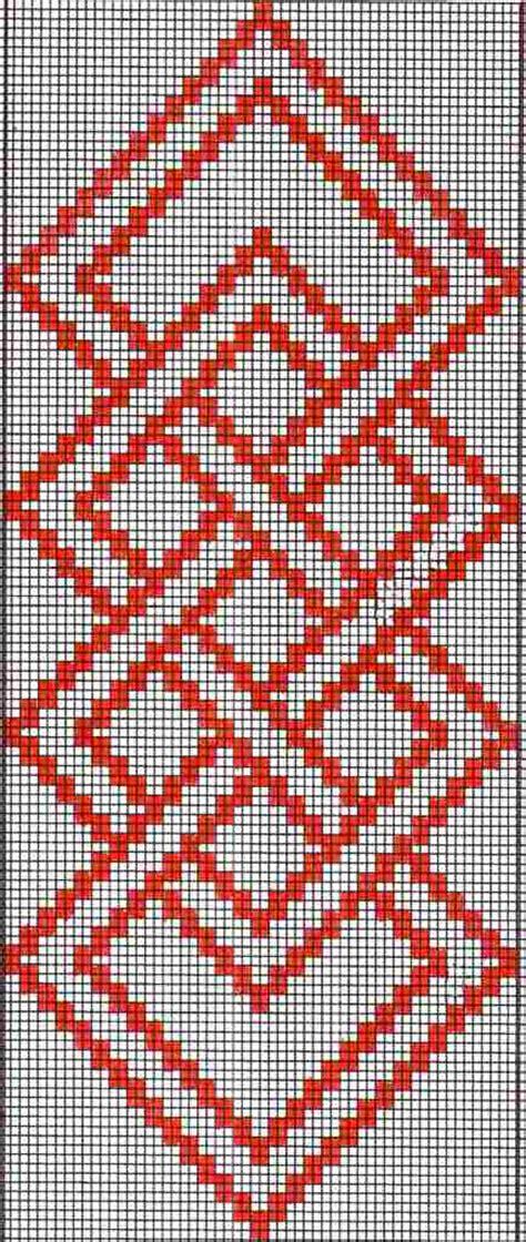 pattern charts simple warp floats backstrap weaving