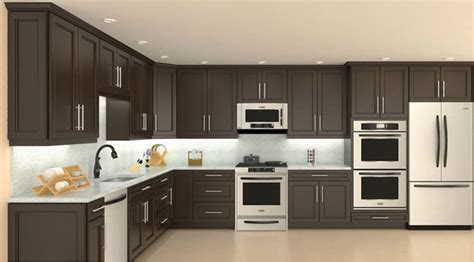 cuisin marocain model 4d chocolate maple recessed panel kitchen cabinets