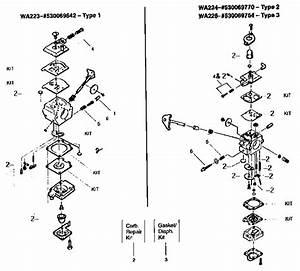 Carburetor Assembly Kits Diagram  U0026 Parts List For Model